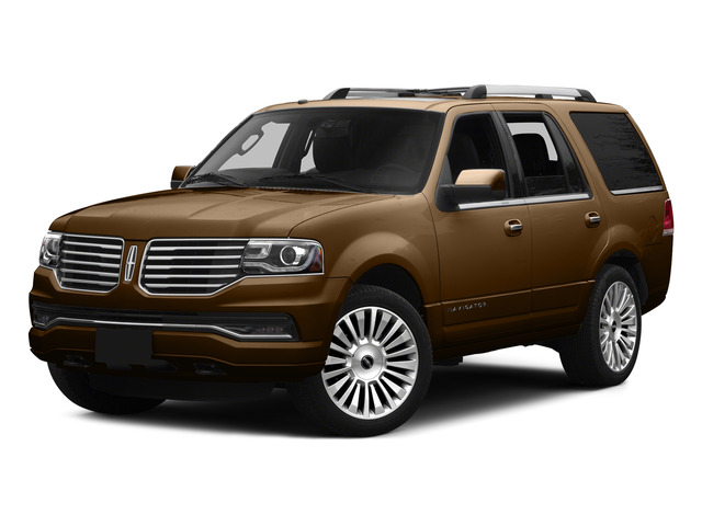 Bronze Fire Metallic 2015 Lincoln Navigator Pictures Navigator Utility 4D Select 2WD V6 Turbo photos front view