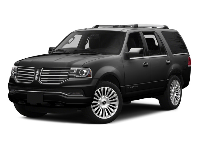 Tuxedo Black Metallic 2015 Lincoln Navigator Pictures Navigator Utility 4D Select 2WD V6 Turbo photos front view