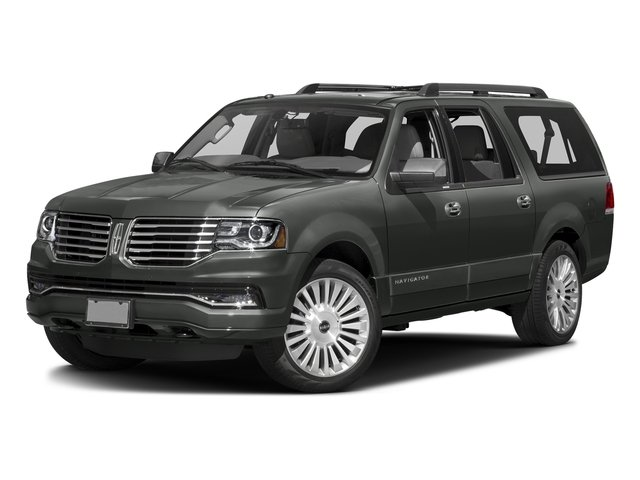 Magnetic Metallic 2015 Lincoln Navigator L Pictures Navigator L Utility 4D Select 2WD V6 Turbo photos front view