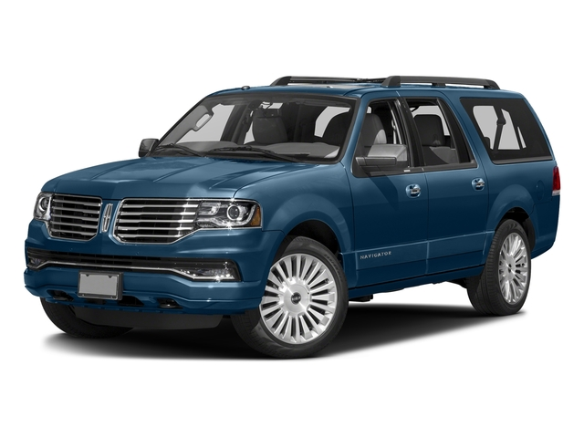 Midnight Sapphire Metallic 2015 Lincoln Navigator L Pictures Navigator L Utility 4D Select 2WD V6 Turbo photos front view