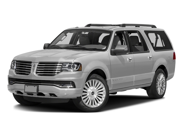 Ingot Silver Metallic 2015 Lincoln Navigator L Pictures Navigator L Utility 4D Select 2WD V6 Turbo photos front view