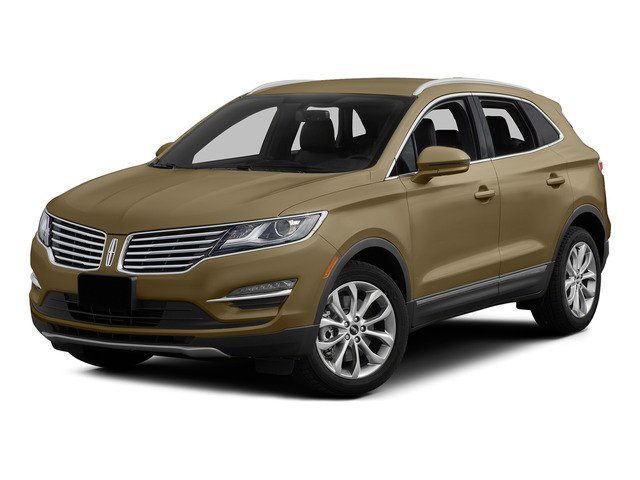 Karat Gold Metallic 2015 Lincoln MKC Pictures MKC Utility 4D Select AWD I4 Turbo photos front view