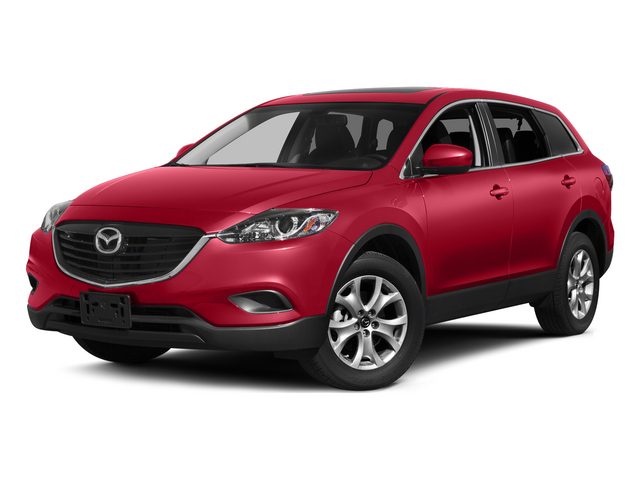 Zeal Red Mica 2015 Mazda CX-9 Pictures CX-9 Utility 4D Touring AWD V6 photos front view
