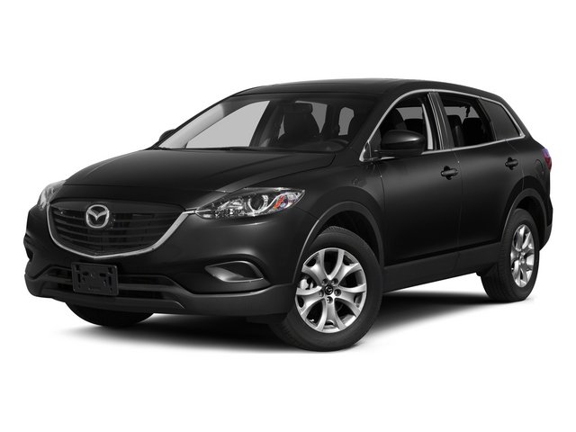 Jet Black Mica 2015 Mazda CX-9 Pictures CX-9 Utility 4D GT 2WD V6 photos front view