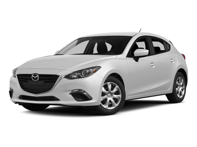 Snowflake White Pearl Mica 2015 Mazda Mazda3 Pictures Mazda3 Wagon 5D i Sport I4 photos front view