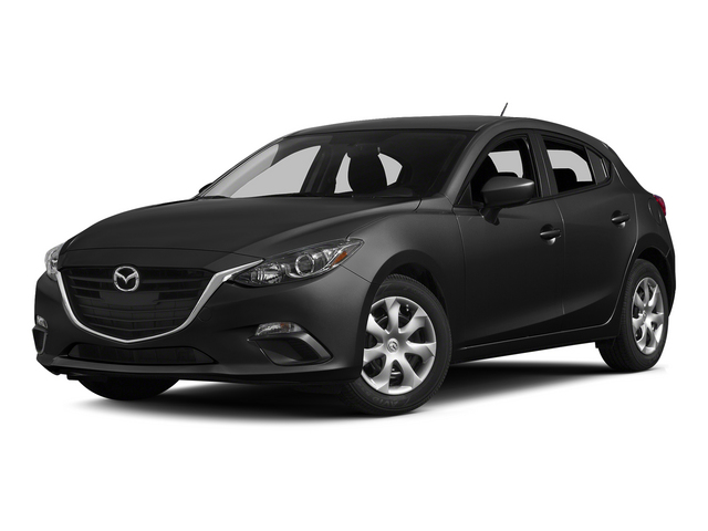 Jet Black Mica 2015 Mazda Mazda3 Pictures Mazda3 Wagon 5D i GT I4 photos front view