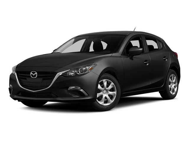 Jet Black Mica 2015 Mazda Mazda3 Pictures Mazda3 Wagon 5D s GT I4 photos front view