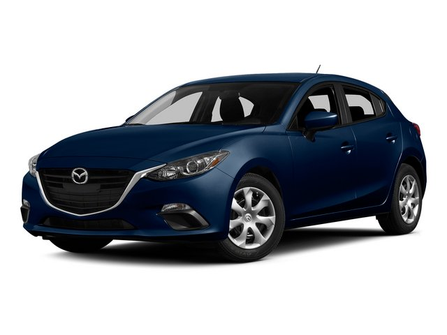 Deep Crystal Blue Mica 2015 Mazda Mazda3 Pictures Mazda3 Wagon 5D i Sport I4 photos front view