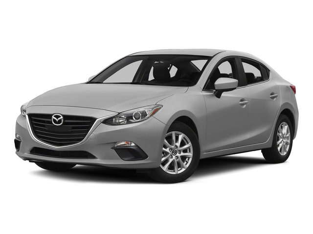 Liquid Silver Metallic 2015 Mazda Mazda3 Pictures Mazda3 Sedan 4D i SV I4 photos front view