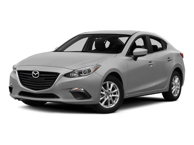 Liquid Silver Metallic 2015 Mazda Mazda3 Pictures Mazda3 Sedan 4D i Sport I4 photos front view
