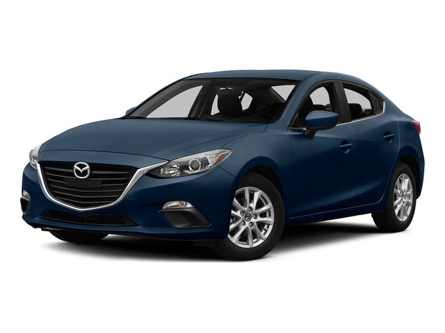 Blue Reflex Mica 2015 Mazda Mazda3 Pictures Mazda3 Sedan 4D s Touring I4 photos front view