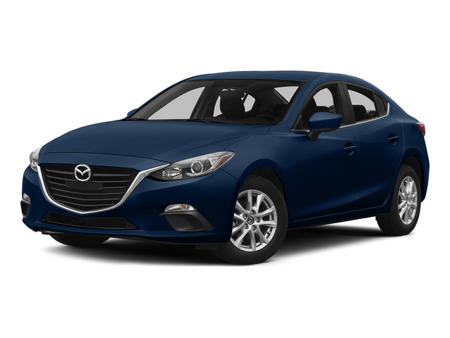 Deep Crystal Blue Mica 2015 Mazda Mazda3 Pictures Mazda3 Sedan 4D i SV I4 photos front view