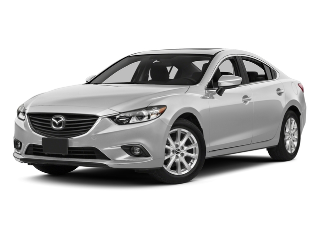 Snowflake White Pearl Mica 2015 Mazda Mazda6 Pictures Mazda6 Sedan 4D i Touring I4 photos front view