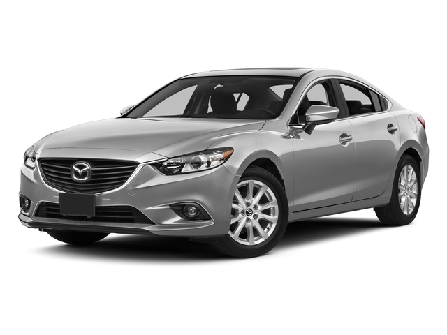 Liquid Silver Metallic 2015 Mazda Mazda6 Pictures Mazda6 Sedan 4D i GT I4 photos front view