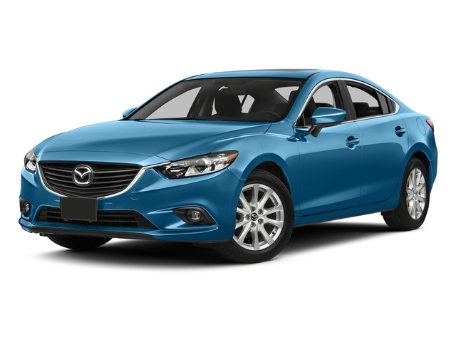 Blue Reflex Mica 2015 Mazda Mazda6 Pictures Mazda6 Sedan 4D i GT I4 photos front view