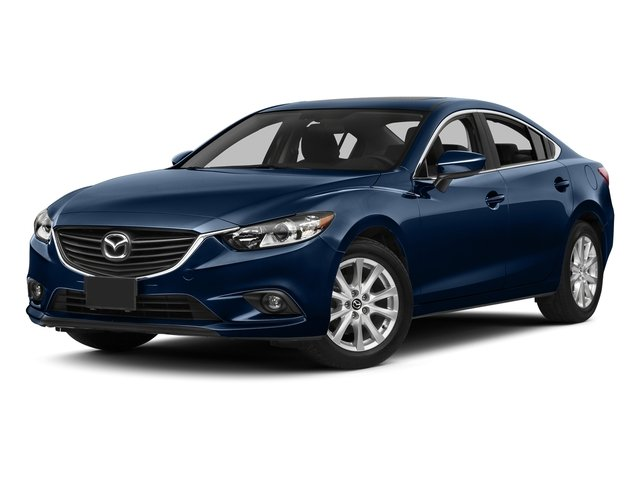 Deep Crystal Blue 2015 Mazda Mazda6 Pictures Mazda6 Sedan 4D i GT I4 photos front view