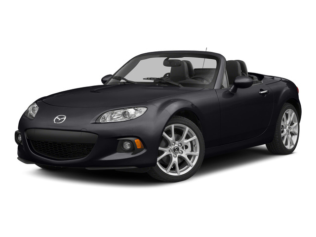 Meteor Gray 2015 Mazda MX-5 Miata Pictures MX-5 Miata Convertible 2D Sport I4 photos front view