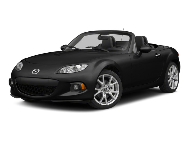 Brilliant Black Clearcoat 2015 Mazda MX-5 Miata Pictures MX-5 Miata Convertible 2D Club I4 photos front view