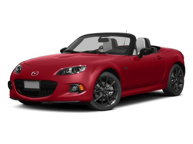 Soul Red 2015 Mazda MX-5 Miata Pictures MX-5 Miata Hardtop 2D Anniversary I4 photos front view