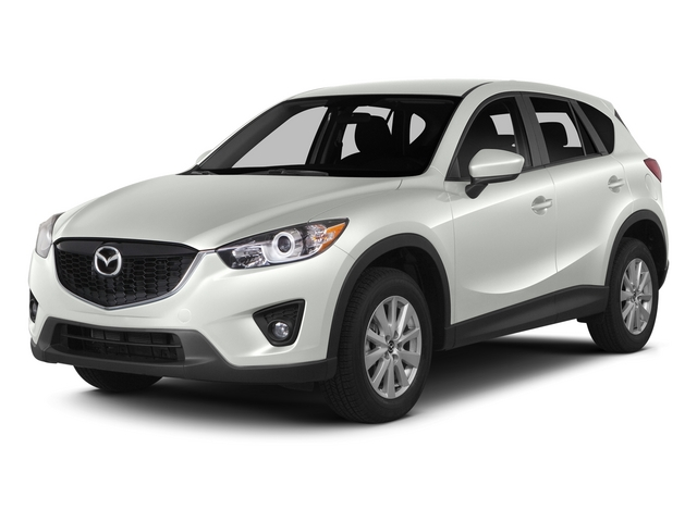 Crystal White Mica 2015 Mazda CX-5 Pictures CX-5 Utility 4D Touring AWD I4 photos front view