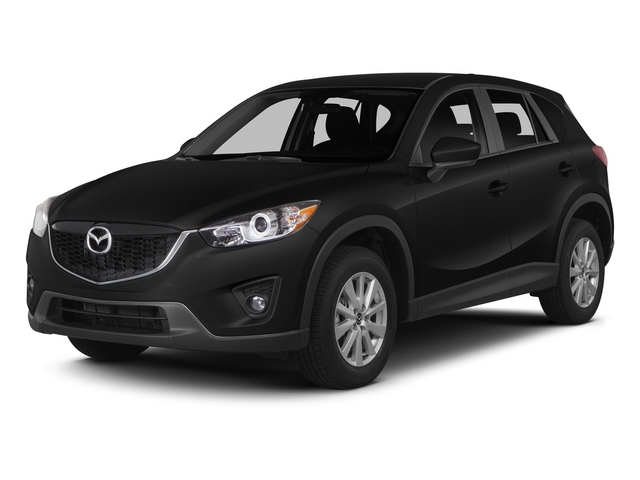 Jet Black Mica 2015 Mazda CX-5 Pictures CX-5 Utility 4D Touring AWD I4 photos front view