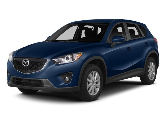 Deep Crystal Blue Mica 2015 Mazda CX-5 Pictures CX-5 Utility 4D GT 2WD I4 photos front view
