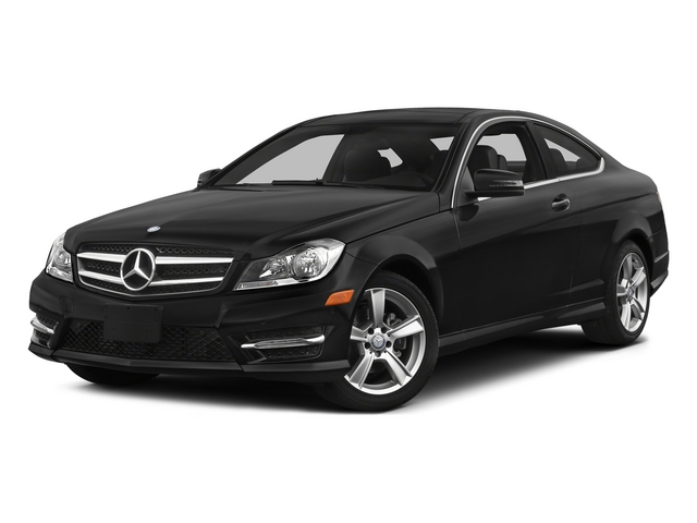 Magnetite Black Metallic 2015 Mercedes-Benz C-Class Pictures C-Class Coupe 2D C250 I4 Turbo photos front view