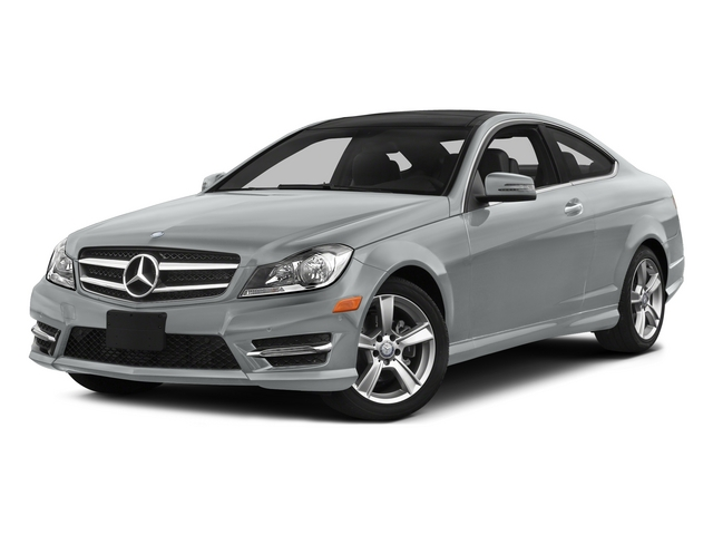 Iridium Silver Metallic 2015 Mercedes-Benz C-Class Pictures C-Class Coupe 2D C250 I4 Turbo photos front view