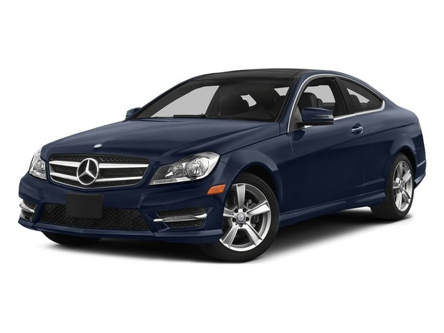 Lunar Blue Metallic 2015 Mercedes-Benz C-Class Pictures C-Class Coupe 2D C250 I4 Turbo photos front view