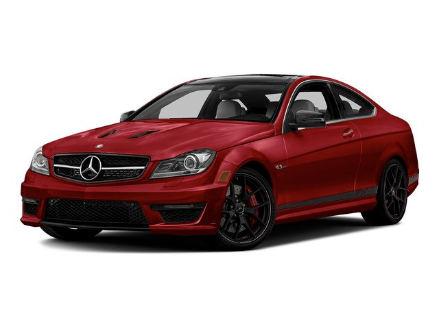 Mars Red 2015 Mercedes-Benz C-Class Pictures C-Class Coupe 2D C63 AMG V8 photos front view