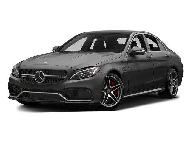 Steel Gray Metallic 2015 Mercedes-Benz C-Class Pictures C-Class Sedan 4D C63 AMG V8 Turbo photos front view