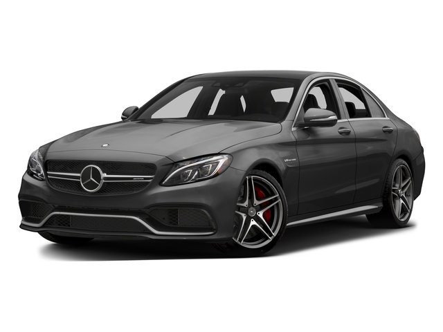 Steel Gray Metallic 2015 Mercedes-Benz C-Class Pictures C-Class Sedan 4D C63 AMG S V8 Turbo photos front view