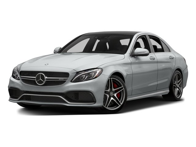 Iridium Silver Metallic 2015 Mercedes-Benz C-Class Pictures C-Class Sedan 4D C63 AMG S V8 Turbo photos front view