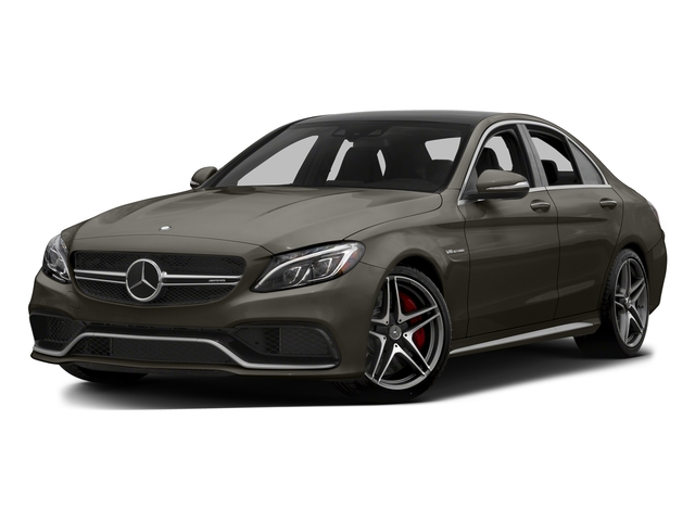 Dakota Brown Metallic 2015 Mercedes-Benz C-Class Pictures C-Class Sedan 4D C63 AMG V8 Turbo photos front view