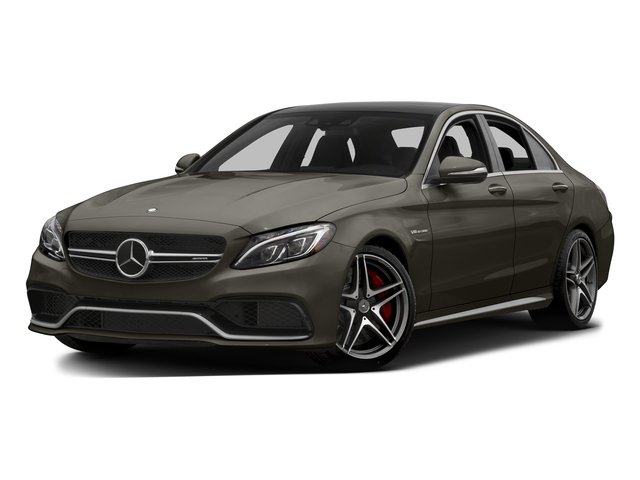 Dakota Brown Metallic 2015 Mercedes-Benz C-Class Pictures C-Class Sedan 4D C63 AMG S V8 Turbo photos front view