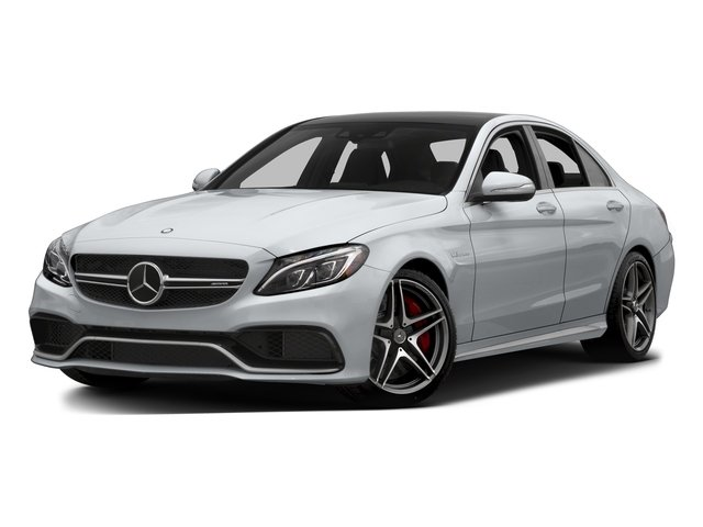 Diamond Silver Metallic 2015 Mercedes-Benz C-Class Pictures C-Class Sedan 4D C63 AMG S V8 Turbo photos front view