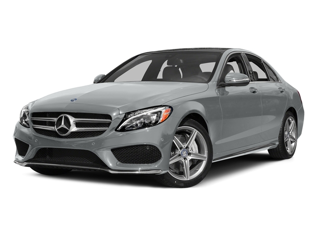 Iridium Silver Metallic 2015 Mercedes-Benz C-Class Pictures C-Class Sedan 4D C400 AWD V6 Turbo photos front view