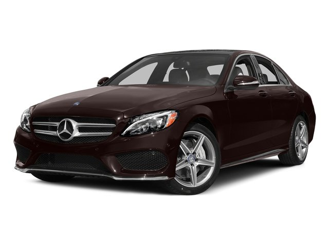 Dakota Brown Metallic 2015 Mercedes-Benz C-Class Pictures C-Class Sedan 4D C400 AWD V6 Turbo photos front view