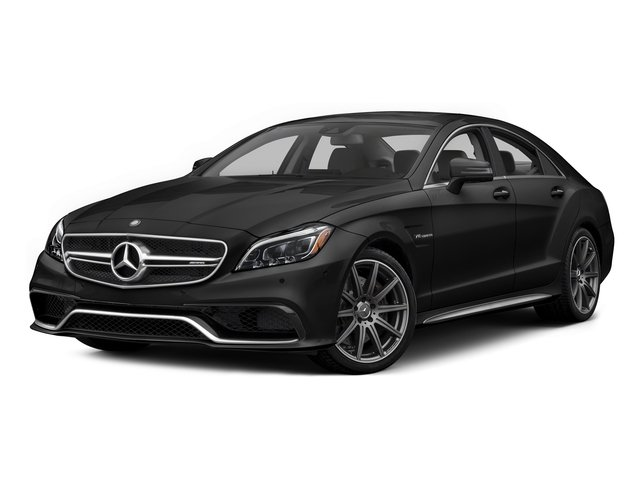 Magnetite Black Metallic 2015 Mercedes-Benz CLS-Class Pictures CLS-Class Sedan 4D CLS63 AMG S AWD V8 photos front view