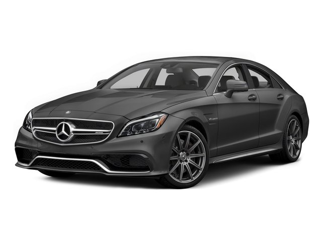Steel Gray Metallic 2015 Mercedes-Benz CLS-Class Pictures CLS-Class Sedan 4D CLS63 AMG S AWD V8 photos front view