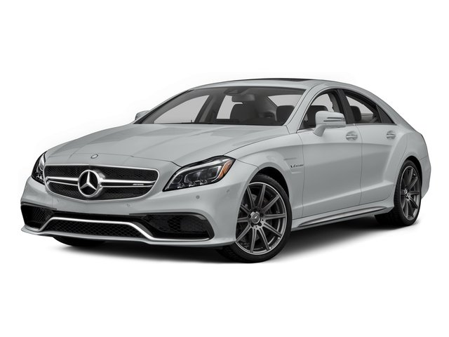 Iridium Silver Metallic 2015 Mercedes-Benz CLS-Class Pictures CLS-Class Sedan 4D CLS63 AMG S AWD V8 photos front view