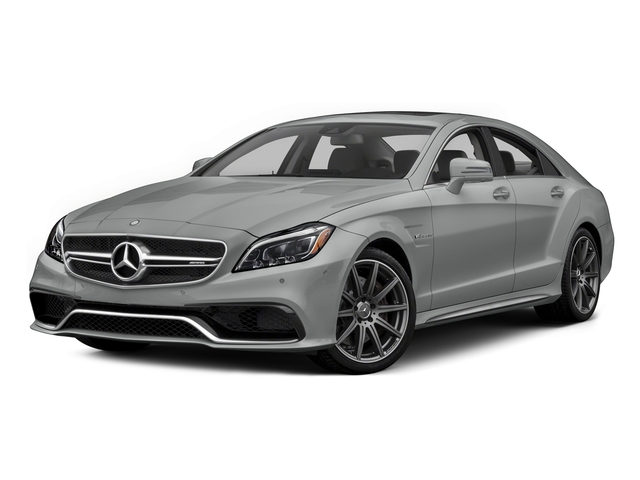 Palladium Silver Metallic 2015 Mercedes-Benz CLS-Class Pictures CLS-Class Sedan 4D CLS63 AMG S AWD V8 photos front view