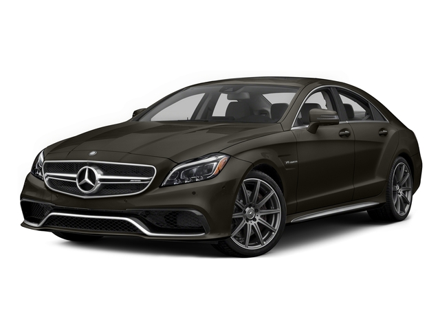 Dakota Brown Metallic 2015 Mercedes-Benz CLS-Class Pictures CLS-Class Sedan 4D CLS63 AMG S AWD V8 photos front view