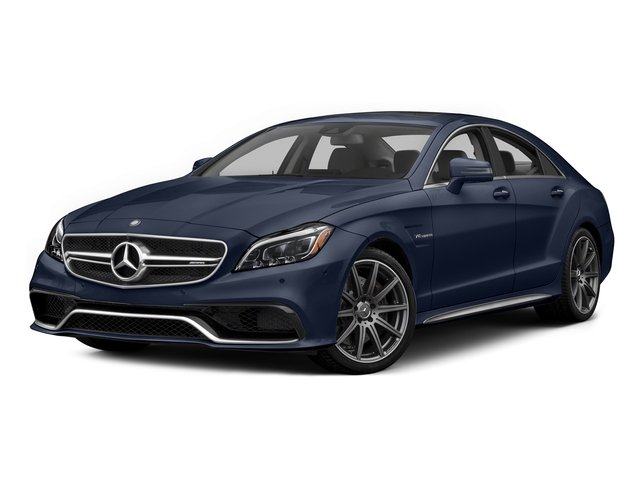 Lunar Blue Metallic 2015 Mercedes-Benz CLS-Class Pictures CLS-Class Sedan 4D CLS63 AMG S AWD V8 photos front view