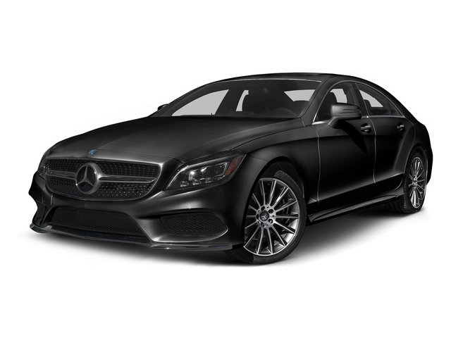 Magnetite Black Metallic 2015 Mercedes-Benz CLS-Class Pictures CLS-Class Sedan 4D CLS400 AWD V6 Turbo photos front view