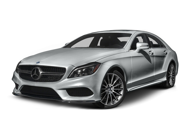 Iridium Silver Metallic 2015 Mercedes-Benz CLS-Class Pictures CLS-Class Sedan 4D CLS400 AWD V6 Turbo photos front view