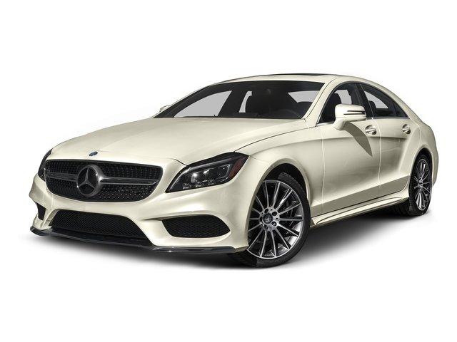designo Diamond White Metallic 2015 Mercedes-Benz CLS-Class Pictures CLS-Class Sedan 4D CLS400 AWD V6 Turbo photos front view