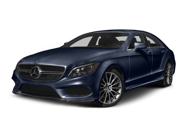 Lunar Blue Metallic 2015 Mercedes-Benz CLS-Class Pictures CLS-Class Sedan 4D CLS400 AWD V6 Turbo photos front view