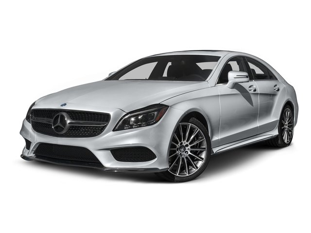 Diamond Silver Metallic 2015 Mercedes-Benz CLS-Class Pictures CLS-Class Sedan 4D CLS400 AWD V6 Turbo photos front view