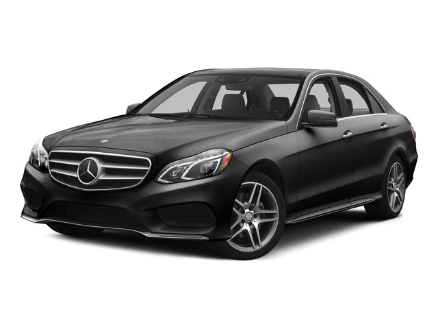 Black 2015 Mercedes-Benz E-Class Pictures E-Class Sedan 4D E400 V6 Turbo photos front view